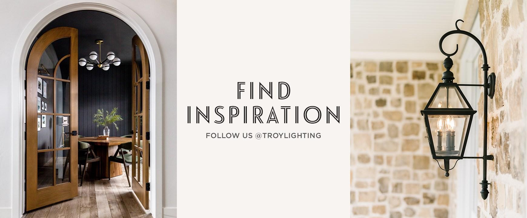 follow us @troylighting