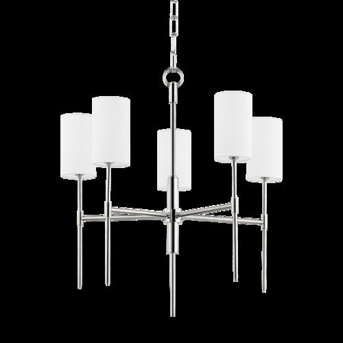 olivia 5 light chandelier