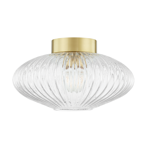 reba 1 light flush mount