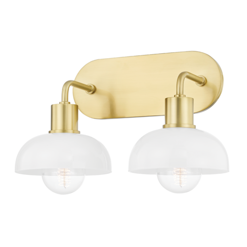 kyla 2 light bath and vanity