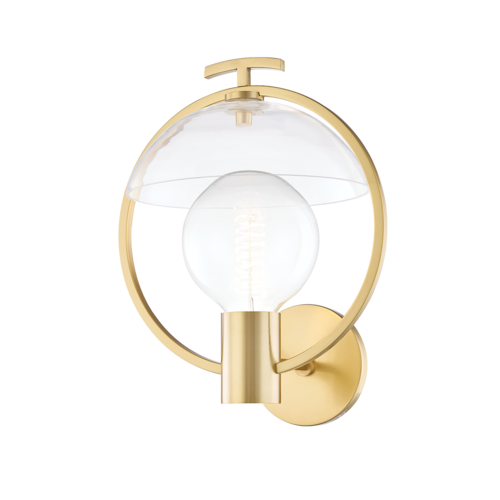 ringo 1 light wall sconce