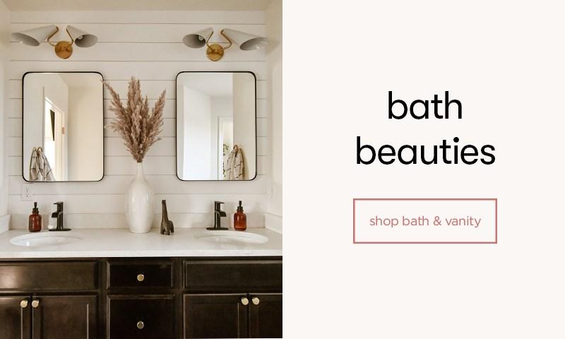 shop bath & vanity
