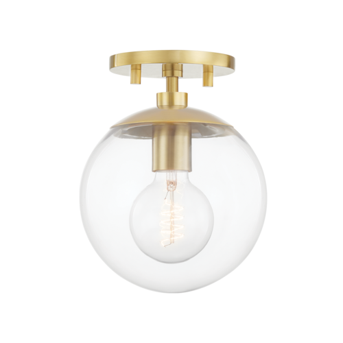 meadow 1 light flush mount