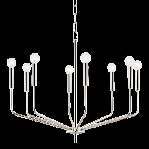bailey 8 light chandelier