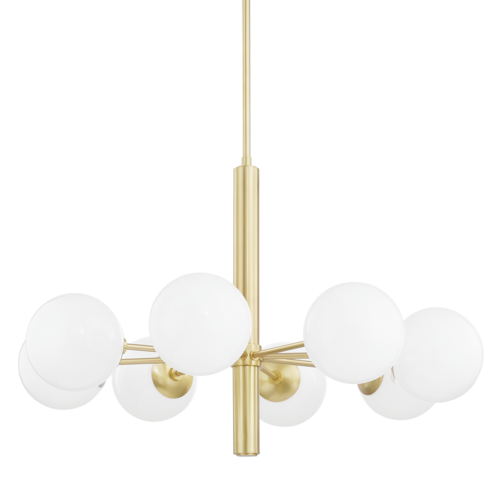 stella 8 light chandelier