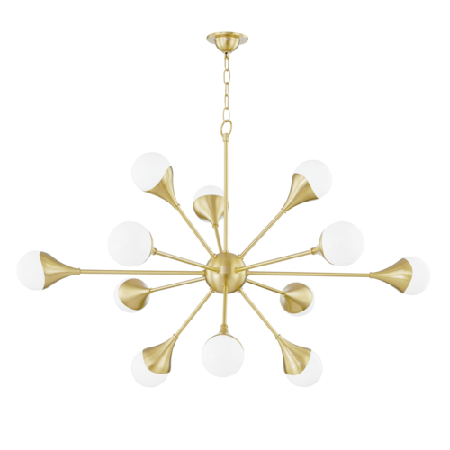 ariana 12 light chandelier