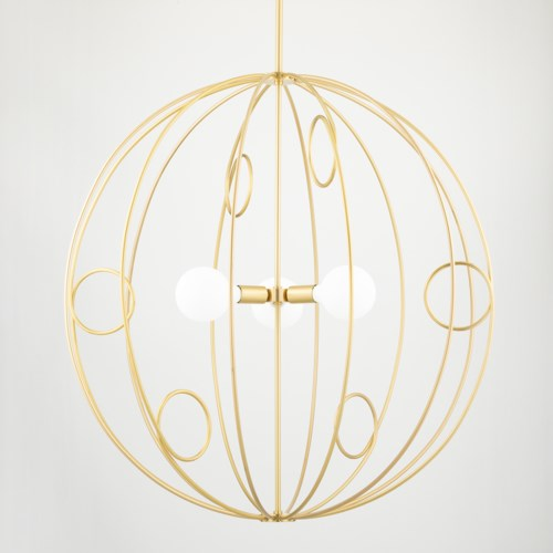 alanis 3 light pendant