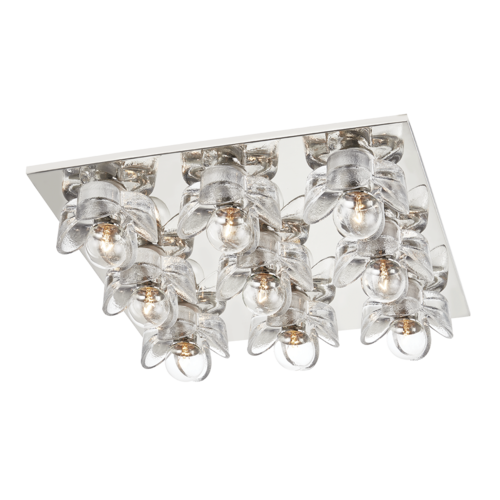 shea 9 light flush mount