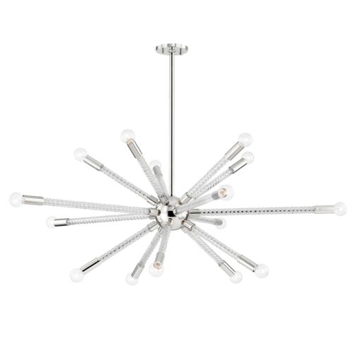 pippin 15 light chandelier