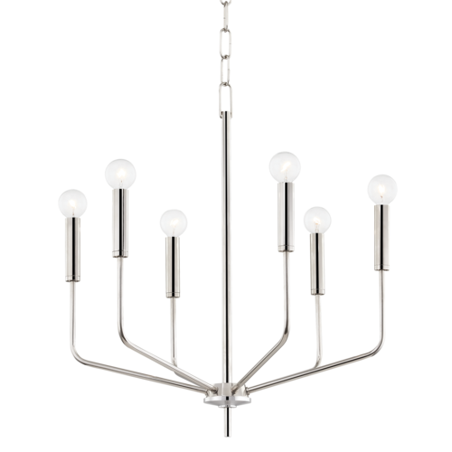bailey 6 light chandelier