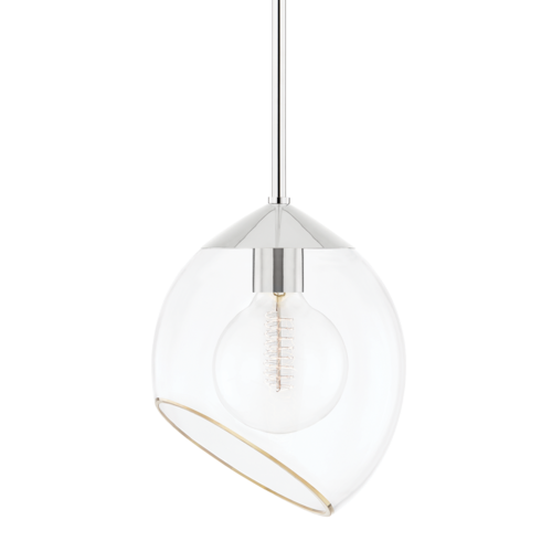 claudia 1 light pendant