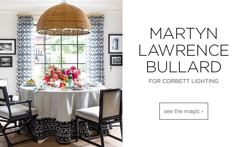 Martyn Lawrence Bollard for Corbett Lighting