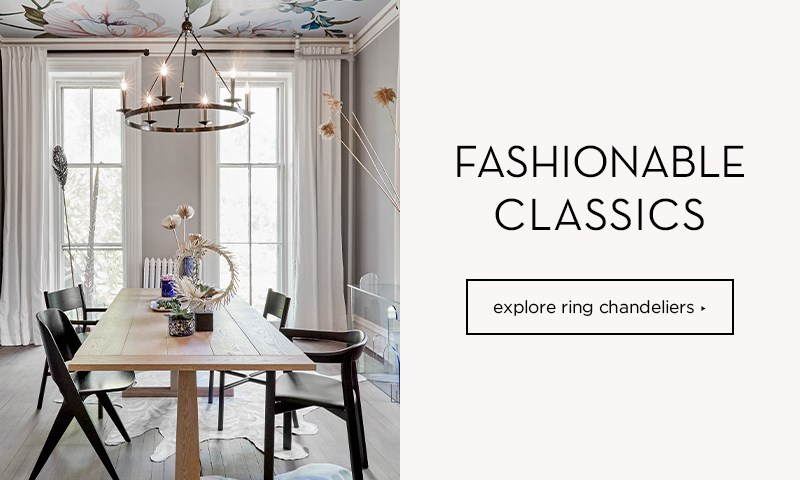 shop ring chandeliers