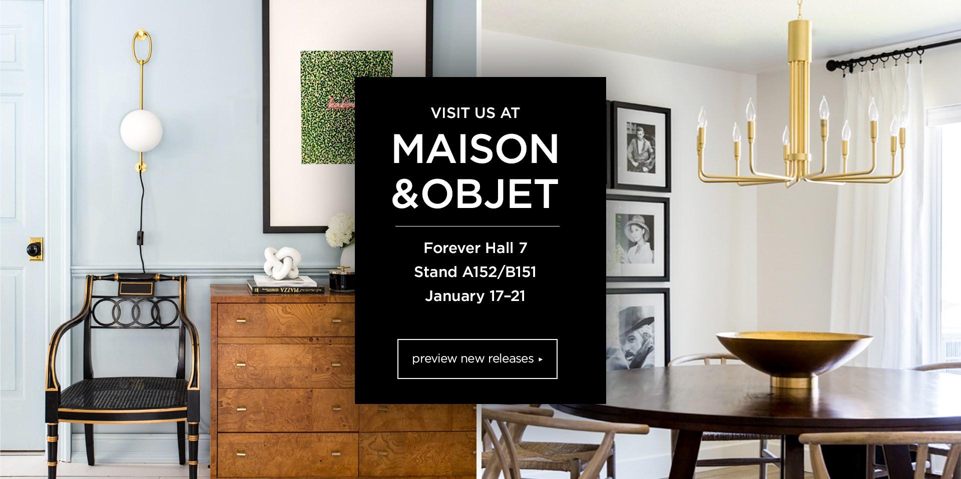 Visit Us as Maison & Objet