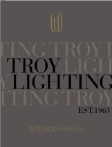 Troy Lighting Interior Catalog 2018