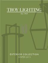 Troy Lighting Exterior Catalog 2019