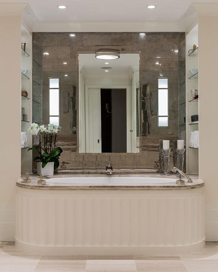 Merveilleux Art Deco Bathroom | Photo By Michael J. Lee | Interior Design By F. D. Hodge