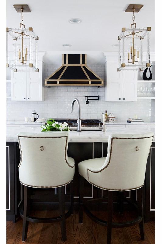 Hudson Valley Lighting Alpine In Kitchen // Courtesy Of Design Manifest