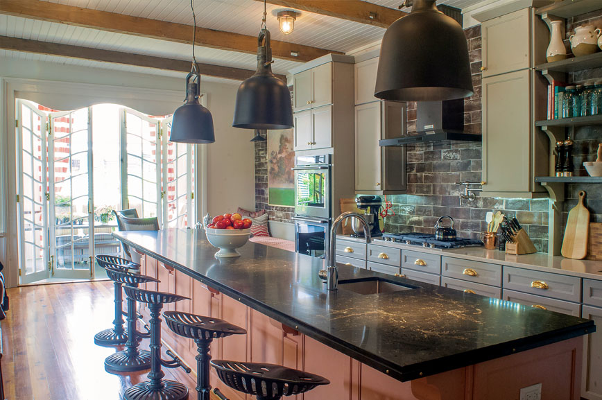 Troy Lighting S Hangar 31 Pendants Add An Feel To The Kitchen Of Year